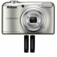 Nikon Coolpix A10 16.1 Mp, 5x Optical Zoom Compact Digital Camera - (silver) - 1