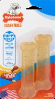 Nylabone Essentials Chicken Flavor Puppy Chews