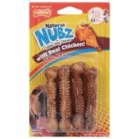 Nylabone Edibles Natural Nubz Chicken Dog Chews - 4 ct