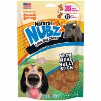 Nylabone Natural Nubz Bully Stick Grain Free Dog Treat Chew (36-Pack) - 36-Pack