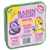 C & S Products Co Inc P - Raisin Delight Suet- Raisin 11.75 Ounce - CS12515