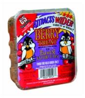 C&S Products Berry Treat Assorted Species Wild Bird Food Beef Suet 11.75 oz. - Case Of: 12;