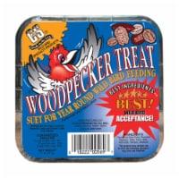 C&S Products Woodpecker Treat Assorted Species Wild Bird Food Beef Suet 11 oz. - Case Of: 12;