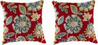 Jordan Manufacturing Toss Pillow - Daelyn Cherry