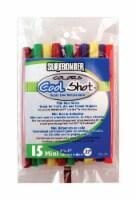 Surebonder  0.3 in. Dia. x 4 in. L Cool Shot  Mini Glue Sticks  Assorted Colors  15 pk - Case - Count of: 1