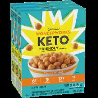 Wonderworks Peanut Butter Keto Friendly Cereal - 3 ct / 10.6 oz