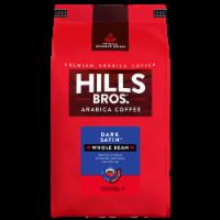 Hills Bros. Dark Satin Dark Roast Whole Bean Coffee