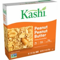 Kashi Vegan Chewy Granola Bars Peanut Butter