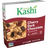 Kashi Cherry Dark Chocolate Chewy Granola Bars 6 Count