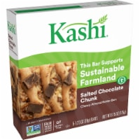 Kashi Vegan Chewy Granola Bars Salted Chocolate Chunk 5 Count