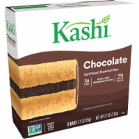 Kashi Soft Baked Breakfast Bars Chocolate 6 Count