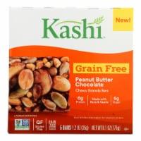 Kashi Vegan Chewy Granola Bars Chocolate Peanut Butter