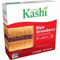 Kashi Soft Baked Breakfast Bars Ripe Strawberry 6 Count