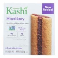 Kashi Blackberry Graham Cereal Bars - Case of 8 - 7.2 OZ