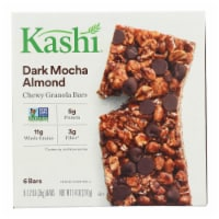 Kashi Vegan Chewy Granola Bars Dark Mocha Almond 6 Count