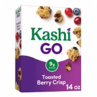 Kashi GO Non-GMO Project Verified Breakfast Cereal Toasted Berry Crisp