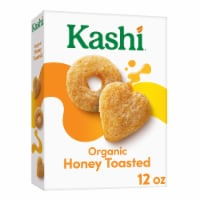 Kashi Organic Breakfast Cereal Honey Toasted Oat