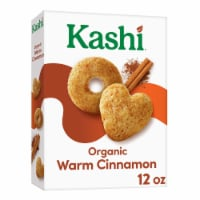 Kashi Organic Warm Cinnamon Heart to Heart Oat Cereal