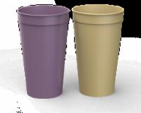 IG Design Plastic Cups - Purple/Orange
