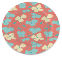 IG Design Floral Plate
