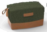 IG Design Travel Bag - Green/Brown