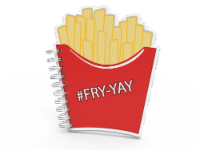 IG Design Fry Notebook