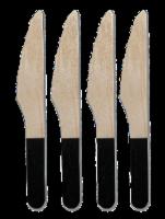 IG Design Wooden Knives - 4 ct