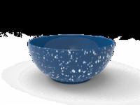 IG Design Melamine Bowl - Blue