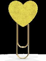 IG Design Heart Fabric Clip - Assorted Colors