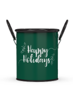 IG Design Galvenized Tin Bucket