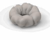 IG Design Hair Scrunchie - Gray