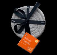 IG Design Woven Coaster - Gray