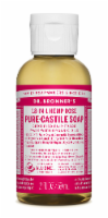Dr. Bronner's Magic Soaps 18-in-1 Hemp Rose Pure-Castile Liquid Soap