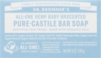 Dr. Bronner's Unscented Pure-Castile Baby Bar Soap