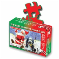 TDC Games World's Smallest Holiday Puzzles - Santa's Best Friend, 4 x 6 in.