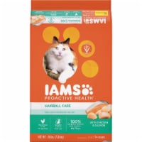 Iams 16# ProActive Health Hairball Care Chicken Cat Food 111272