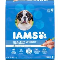 IAMS Healthy Weight Real Chicken Large Breed Dry Adult Dog Food