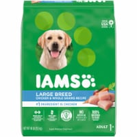 Iams Real Chicken Large Breed Dry Dog Food