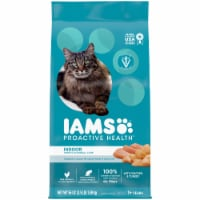 IAMS Proactive Health with Chicken & Turkey Indoor Weight & Hairball Care Cat Food