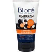Biore Charcoal Acne Scrub