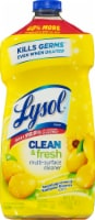Lysol Clean & Fresh Sparkling Lemon & Sunflower Essence Scent Multi-Surface Cleaner