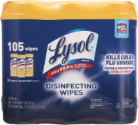 Lysol® Lemon & Lime Blossom Scent Disinfecting Wipes - 3 pk / 35 ct