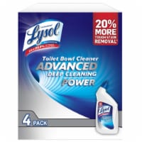 Lysol Advanced Toilet Bowl Cleaner, 32 Ounce (4 Pack) - 1 unit