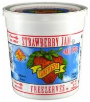 Sunfresh Strawberry Jam Freezerves