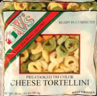 V's Pre-Cooked Tri Color Tortellini - 20 Oz