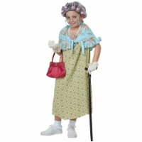 Morris Costumes CC60653 Childs Old Lady Costume Kit - One Size