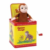 Schylling Curious George Jack In The Box - 1 Unit