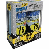 Intex  Cloth-Like  Fiber Blend  Wiping Rags  10 in. W x 11 in. L 2 pk - Case Of: 1; - Count of: 1