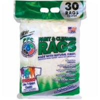 Precision-Fiber Cloth 12.5 In. x 16 In. Paint & Cleaning Rags (30 Count) - 12.5 In. x 16 In.