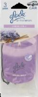 Glade Lavender & Vanilla Car Air Fresheners